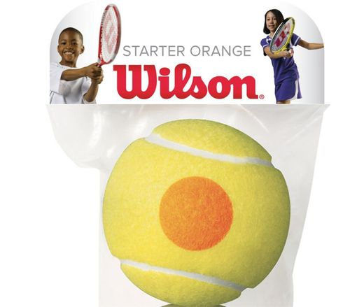 Wilson Tennisbälle Stage 2 Starter Orange 1er lose