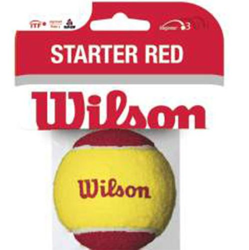 Wilson Tennisbälle Stage 3 Starter Red 1er lose