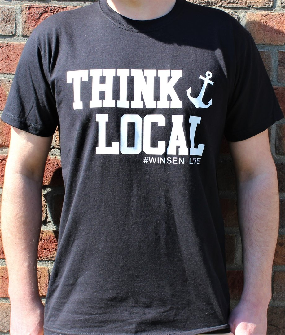 "Men´s T-Shirt ""Think Local"""