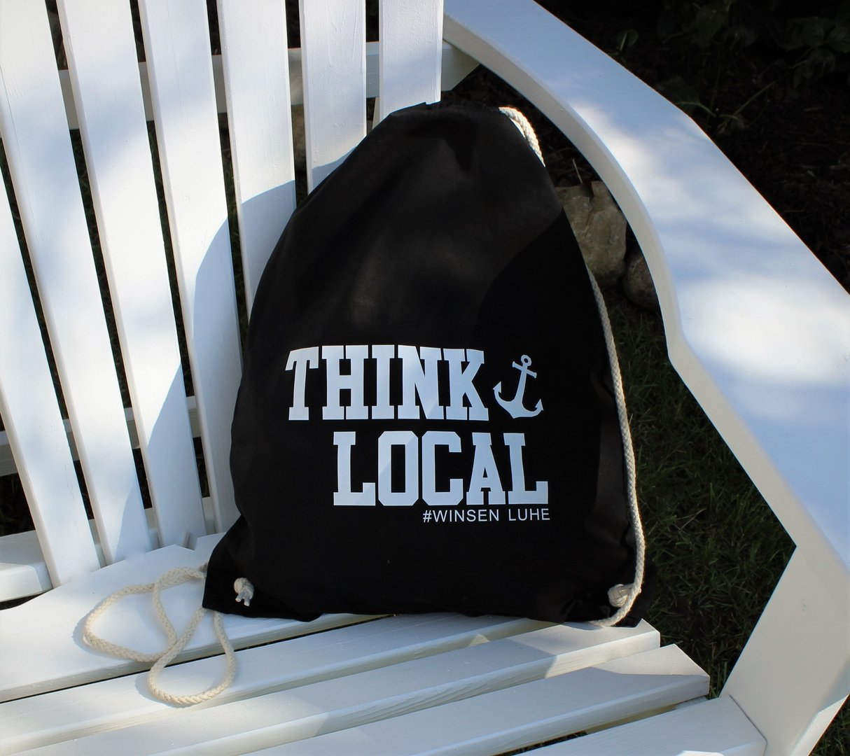 "Cotton Gymsac ""Think Local"""